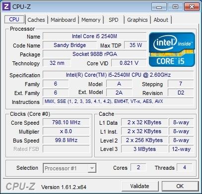 CPU-Z 起動