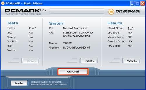 Run PCMark
