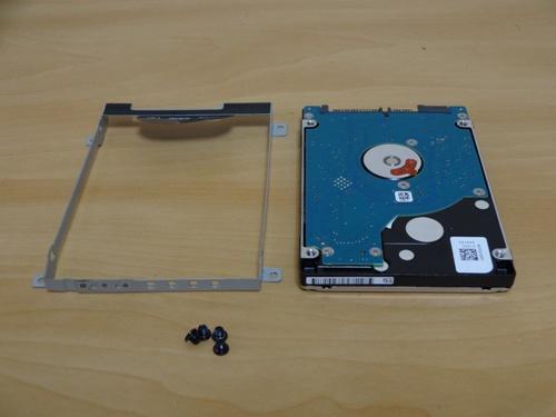 7200回転のハードディスク
