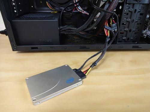 SSDに繋ぐ