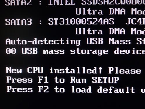 New CPU